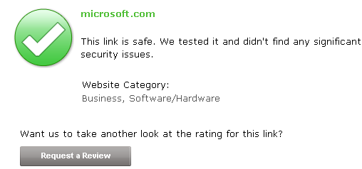 microsoft.com - McAfee SiteAdvisor Software – Website Safety Ratings and Secure Search.png